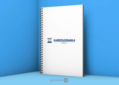 Narzędziownia Pszenica - notes firmowy